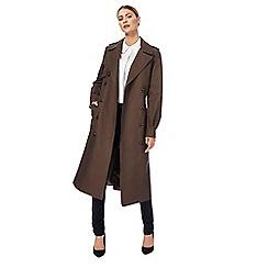 J by Jasper Conran - Khaki trench coat