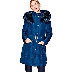 J by Jasper Conran - Navy down fill puffer coat