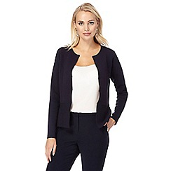 J by Jasper Conran - Navy hook and eye cardigan