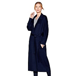J by Jasper Conran - Navy belted coatigan