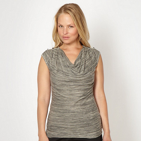 J by Jasper Conran - Designer natural space dye cowl top