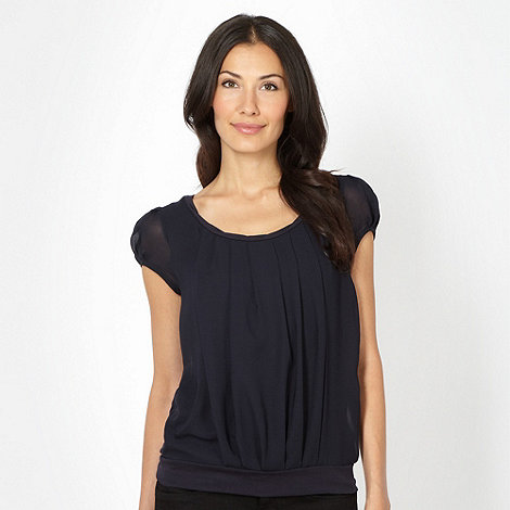 J by Jasper Conran - Designer pleat front jersey top