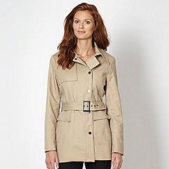 J by Jasper Conran - Designer beige short trench coat