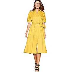 J by Jasper Conran - Yellow shirt dress
