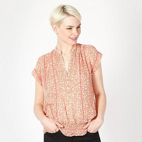 J by Jasper Conran - Designer pink mini floral blouson top