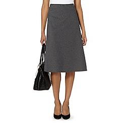 J by Jasper Conran - Designer grey pull on skirt