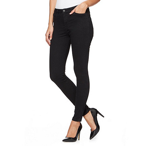 J by Jasper Conran - Black super skinny jeans