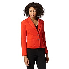 J by Jasper Conran - Designer orange textured blazer