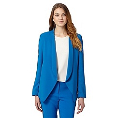 J by Jasper Conran - Designer bright blue soft jacket