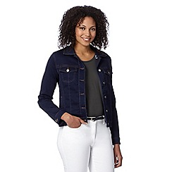 J by Jasper Conran - Designer dark blue denim jacket