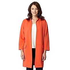 J by Jasper Conran - Designer orange duster coat
