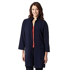 J by Jasper Conran - Designer navy duster coat
