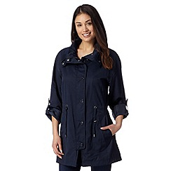 Dark Blue Waterproof Jacket - Debenhams