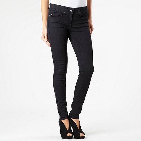 J by Jasper Conran - Black super skinny jeans