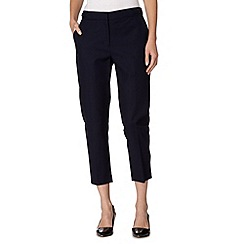 J by Jasper Conran - Designer navy three quarter length trousers