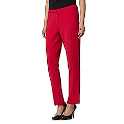 J by Jasper Conran - Designer bright pink front pocket tailored trousers