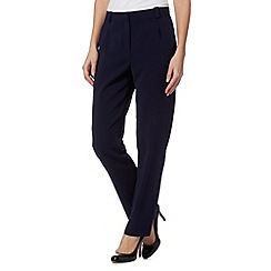 J by Jasper Conran - Designer navy wide leg trousers