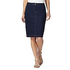 J by Jasper Conran - Designer blue denim skirt