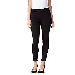 J by Jasper Conran - Designer black super stretch skinny jeans