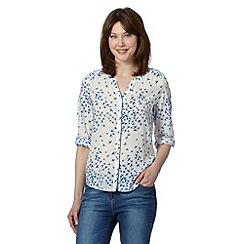 J by Jasper Conran - Designer white bird print blouse