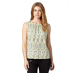 J by Jasper Conran - Designer lime dash print top