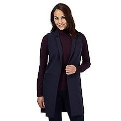 J by Jasper Conran - Navy sleeveless waistcoat