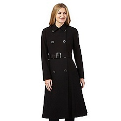 J by Jasper Conran - Black military coat