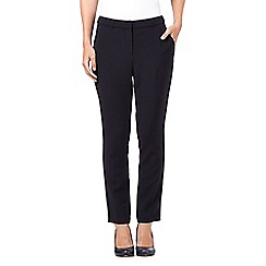 J by Jasper Conran - Navy tapered leg trousers