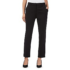 J by Jasper Conran - Designer black split waist trousers