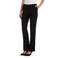 J by Jasper Conran - Black bootcut trousers