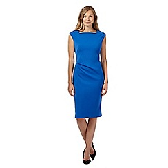 J by Jasper Conran - Bright blue form fitting jersey dress