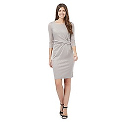 J by Jasper Conran - Gold sparkle jersey dress