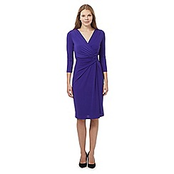 J by Jasper Conran - Purple twist dress