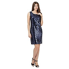 J by Jasper Conran - Navy sequin dress