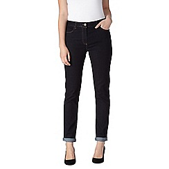 J by Jasper Conran - Designer dark blue roll up skinny jeans
