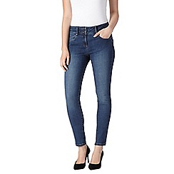 J by Jasper Conran - Rinse wash shape enhancing high-waisted skinny jeans