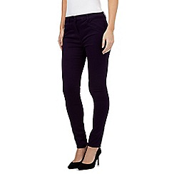 J by Jasper Conran - Purple cotton jeans