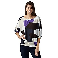 J by Jasper Conran - Designer natural shapes top