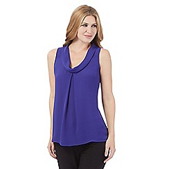 J by Jasper Conran - Purple roll neck top