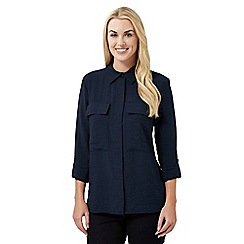 J by Jasper Conran - Navy pocket shirt
