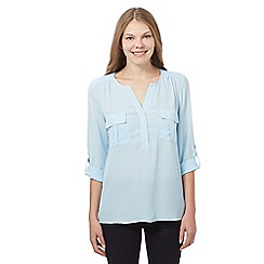 J by Jasper Conran - Light blue pocket shirt
