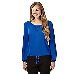 J by Jasper Conran - Bright blue drawstring top