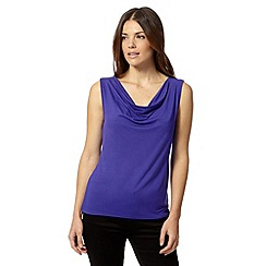 J by Jasper Conran - Designer purple cowl neck top