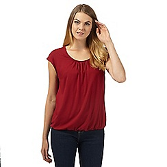 J by Jasper Conran - Designer dark red bubble top