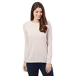 J by Jasper Conran - Pale pink cashmere jumper