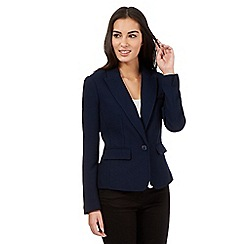J by Jasper Conran - Navy textured jacket
