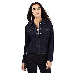 J by Jasper Conran - Dark blue denim jacket