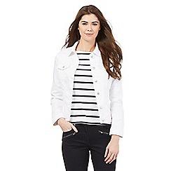 J by Jasper Conran - White denim jacket