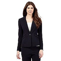 J by Jasper Conran - Navy tailored double breasted jacket