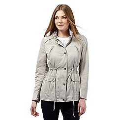 J by Jasper Conran - Beige shower resistant jacket
